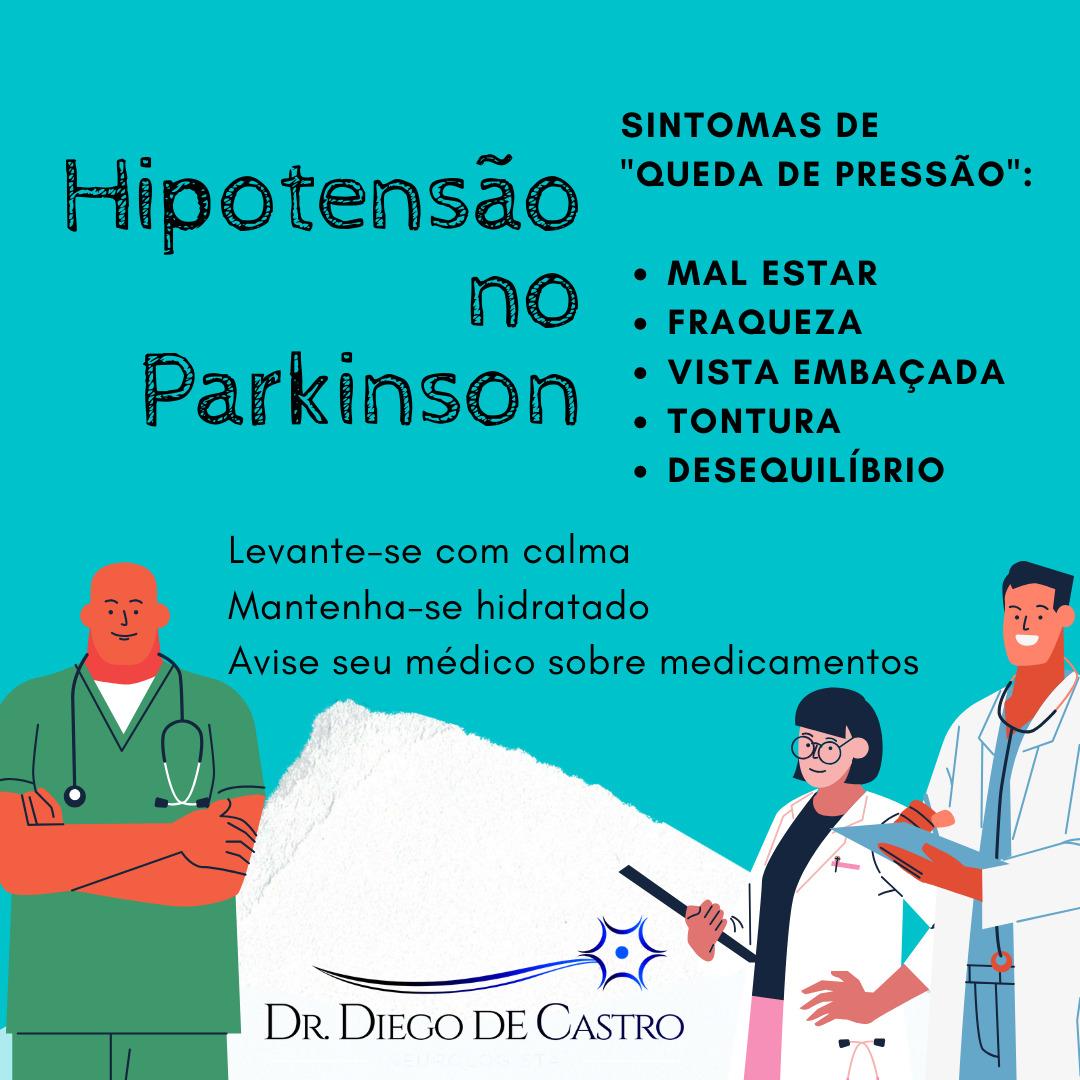 SIntomas Não Motores Doença de Parkinson