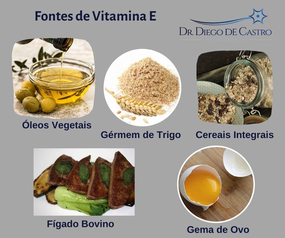 Fontes de Vitamina E