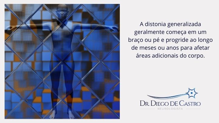 Sintomas da Distonia Generalizada