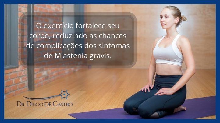 Exercícios e Bem-estar na Miastenia gravis