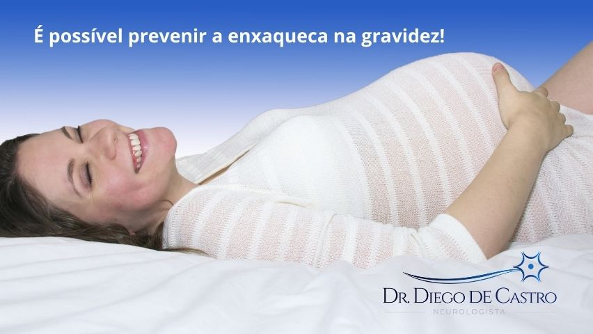 Prevenir a enxaqueca na gravidez