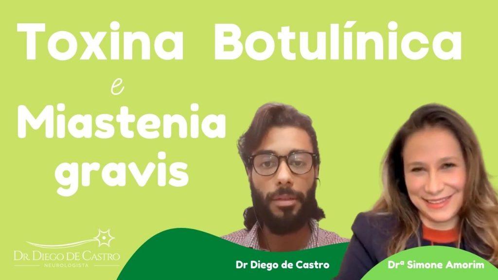 Aplicação de Toxina Botulínica em Pessoas com Miastenia