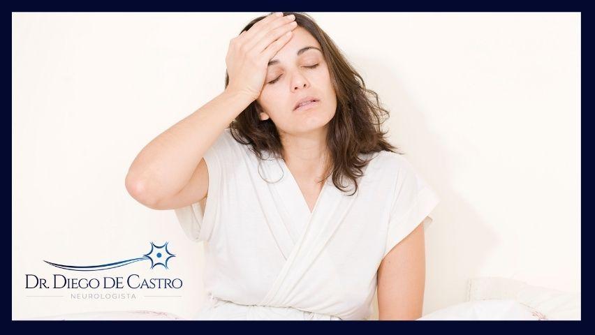 sintomas da migrânea